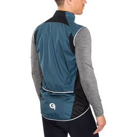 Gonso Passo Gilet sans manches coupe-vent Homme, majolica blue
